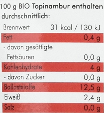 manako prebiotic BIO Topinambur Pulver, 500 g Zipbeutel (1 x 0,5 kg) - 2